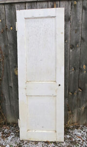 ANTIQUE SOLID FIR INTERIOR DOORS  circa 1912 SHABBY CHIC