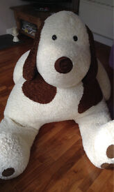 Giant cuddly dog for sale - Marks and Spencer