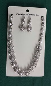 Pearl Necklace Set $20 obo