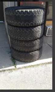 Bf good rich muddig tires