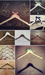Personalized Wire Hangers, Cake Topper & Table Numbers - WEDDING Cambridge Kitchener Area image 10