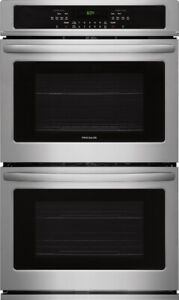 "BNIB FRIGIDAIRE 30"" STAINLESS STEEL DOUBLE WALL OVEN​"