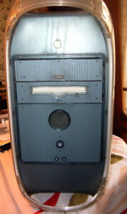 Mac G4 Case including power supply and two removable drives
