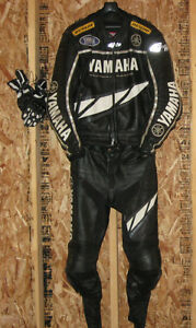 Yamaha Leather Jacket Pants, Boots and Gloves