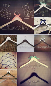 Personalized Wire Hangers, Cake Topper & Table Numbers - WEDDING Kingston Kingston Area image 10