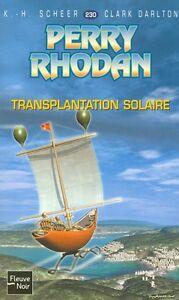 PERRY RHODAN TRANSPLANTATION SOLAIRE ÉTAT NEUF