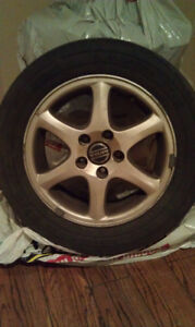 Volvo Mags with Tires, 15""