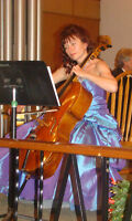 Professional cellist for weddings