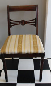 WOODEN VINTAGE CHAIR