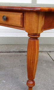 2 SOLID WOOD SIDE TABLES MADE IN US - GREAT CONDITION