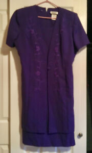 Women's Purple Dress, Size 18