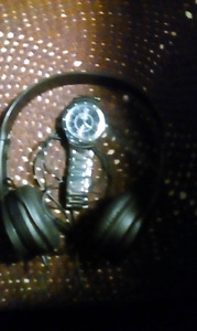 Headphones and Watch for sale