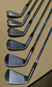 Taylormade p730 7, 8 ,9 iron + 48 degree PW TM milled grind
