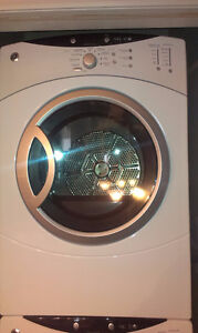 Stackable GE Electric Front Load Dryer