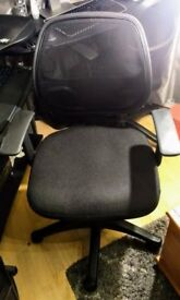 Two mesh back chairs for sale