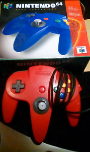 N64  stuff with original boxes