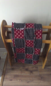 Quilt Stand and Magazine Rack