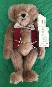 Dean's Rag Book Teddy Bear CEDRIC LE -1 of 50 For WDW Convention