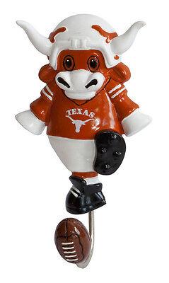 Texas Longhorns Mascot Wall Hook BIG 12 NCAA Licensed college sports football