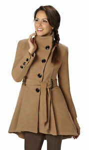 Steve Madden Women's Drama Coat Camel 3XL, New