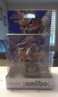 BNIB Amiibo: Fox, Sheik, Mega Man