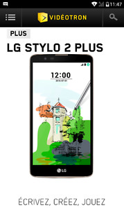 Cellulaire lg stylo 2