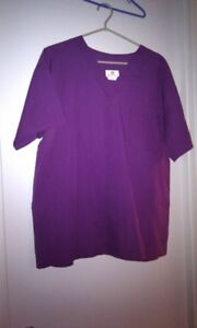 Solid Color Scrub Tops for Sale