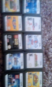 Multiple DS games 5$ EACH