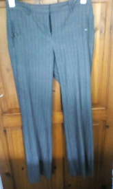 Pinstripe trousers. Size 8R