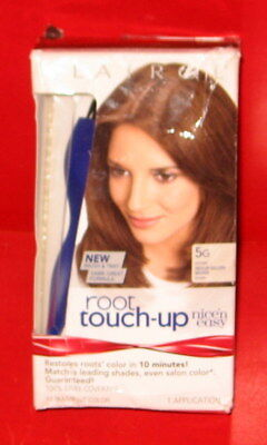 CLAIROL Root Touch-Up NICE 'N EASY Brush & Tray Hair Color # 5G Medium GL. Brown ()