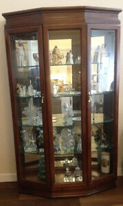 Estate Sale Pair of Contemporary Display Cabinets