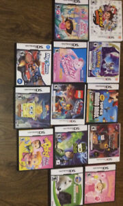 Variety of Ds,3ds and Gameboy Games