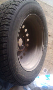 Winter Tires and rims from 98 Nissan Altima
