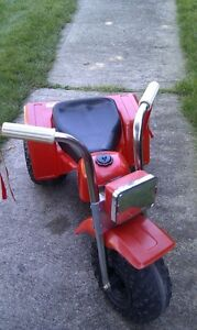 Little Red Tractor Style Ride On Trike