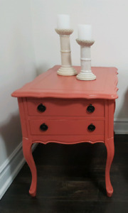 ONE beautiful refinished nightstand BEST OFFER