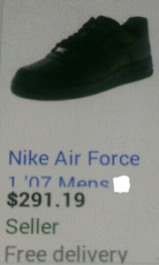 NEW IN BOX- NIKE AIR FORCE 1 '07..CALL\TEXT 701-2628 FOR PICK UP