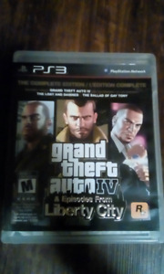 PS3 GTA IV WITH STRATEGY GUIDE AND MAP