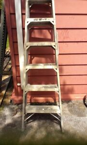 6 Foot Double Sided Step Ladder
