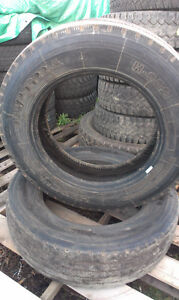 1 Hercules and 1 Durun Steering Tire size 255 / 70R 22.5