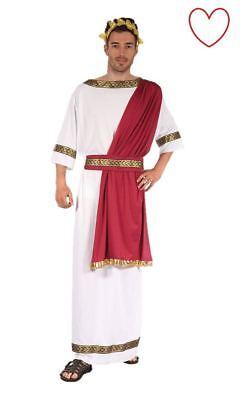 Uomo Dio Greco Romano Egiziano Vestito Costume