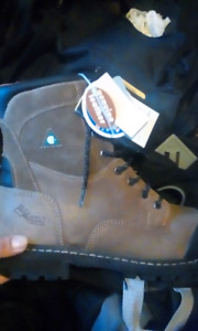 Size 11 Workload steel toe boots.