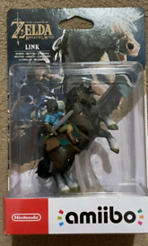 Link Rider Amiibo,official Nintendo, Zelda Breath of the Wild *NEW*