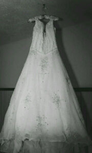 Wedding Gown with Veil