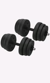 25KG Dumbells Pair Weights