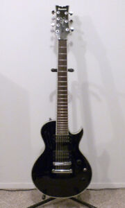 Ibanez Artist 7 string Les Paul with DiMarzio Pickups