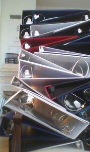 Back to School Special - 35% off of Used 3-ring Binders
