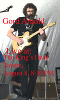 Live Acoustic Rock & Blues with Gord Arnold