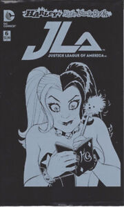 JLA JUSTICE LEAGUE AMERICA #6 HARLEY'S LITTLE BLACK BOOK VARIANT