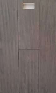 "Blowout Clearance on Hickory 3/4"" x 7.5"" Eng Hardwood Grey Color"