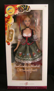 2006 FESTIVALS OF THE WORLD BARBIE FRAULEIN OKTOBERFEST NIB